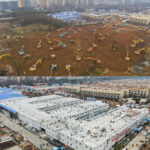 Wuhan Completes One Of Two New Hospitals For Coronavirus Patients In Ten Days